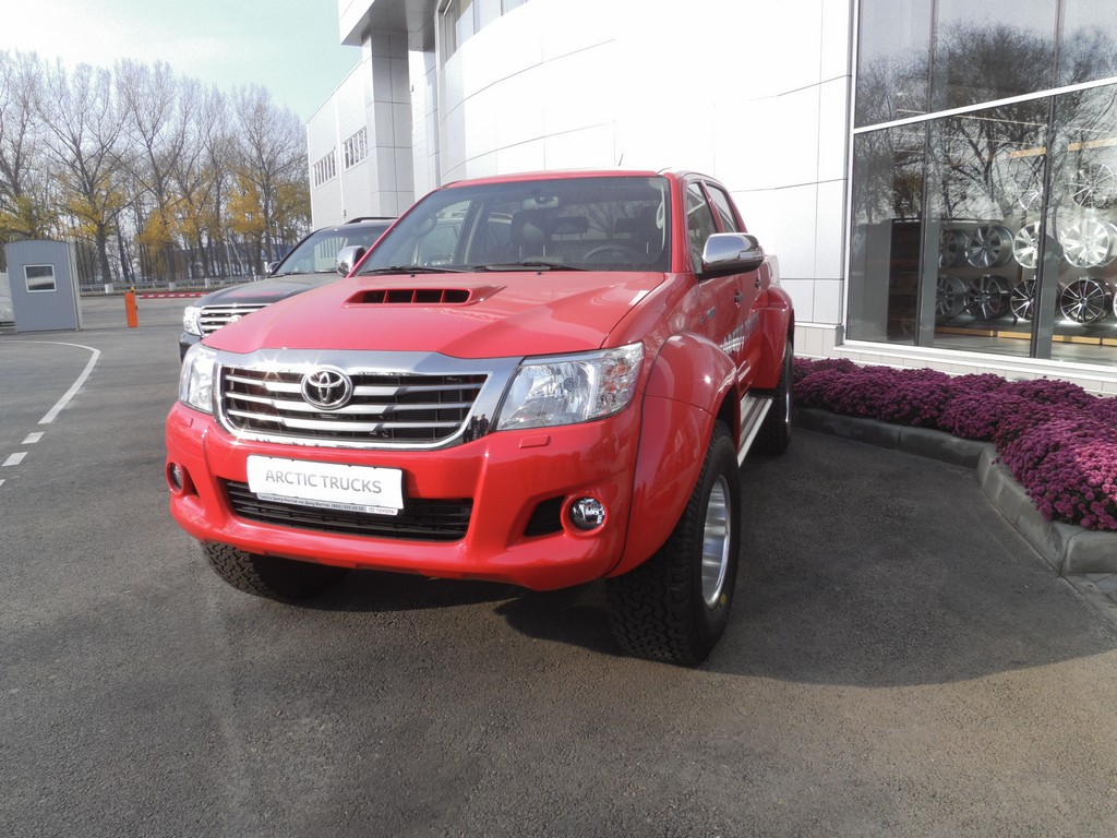Toyota Hilux, 2013 г